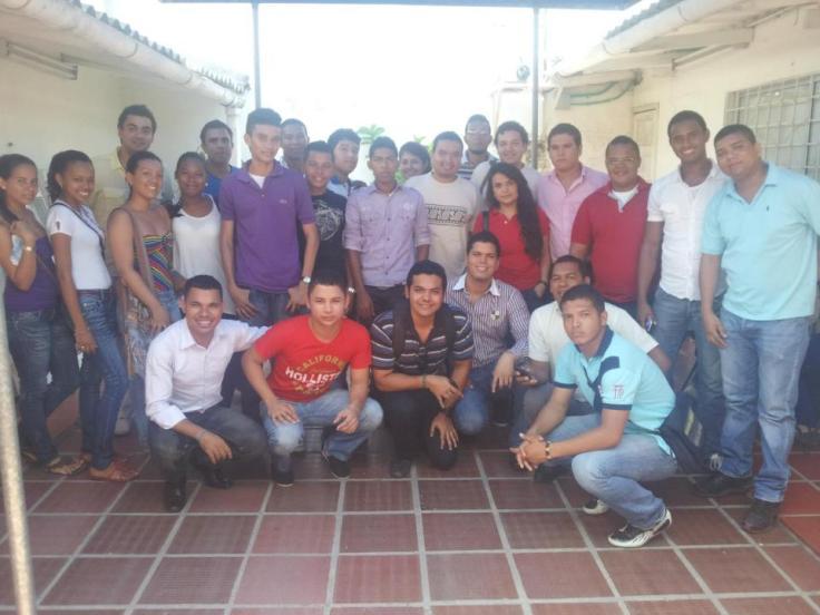 Representantes de organizaciónes Juveniles